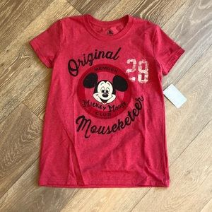 New Disney Mouseketeer Mickey Mouse club shirt